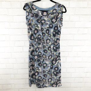 Boden Limited Edition Abstract Silk Dress, US 4